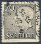 Stamps Europe - Sweden -  Gustavo VI Adolfo de Suecia