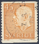 Stamps Sweden -  Gustavo VI Adolfo de Suecia