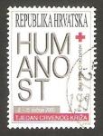 Stamps Croatia -  cruz roja