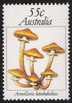 Sellos de Oceania - Australia -  SETAS-HONGOS: 1.108.003,00-Armillaria luteobubalina -