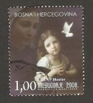 Stamps Europe - Bosnia Herzegovina -  santuario de la virgen maría de medugorje