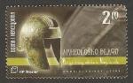 Sellos del Mundo : Europa : Bosnia_Herzegovina : casco de guerrero ilirio