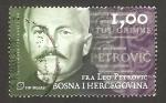 Stamps : Europe : Bosnia_Herzegovina :  leo petrovic, padre franciscano