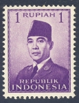 Stamps Asia - Indonesia -  Achmed Sukarno