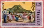 Stamps America - Venezuela -  Danzas populares - El Carite.