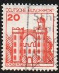 Sellos de Europa - Alemania -  Castillos y Palacios - Castillo Pfaueninsel (Berlín)