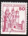 Sellos del Mundo : Europa : Alemania :  Castillos y Palacios - Castillo de Neuschwanstein