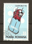 Stamps Romania -  Sapporo 72.