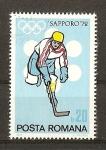 Sellos de Europa - Rumania -  Sapporo 72.