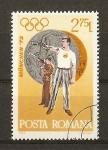Stamps Romania -  Munich 72.