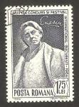 Stamps Romania -  festival internacional en bucarest