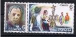 Stamps Spain -  Edifil  2653-2654  Maestros de la Zarzuela  sello doble