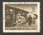 Sellos de Europa - Bulgaria -  9 - Correos, por tren