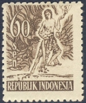 Sellos de Asia - Indonesia -  Danza