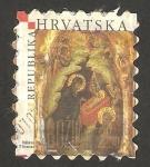 Sellos de Europa - Croacia -  retablo navideño
