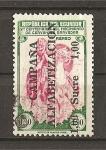Stamps Ecuador -  Campaña Alafabetizacion.