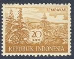 Stamps Indonesia -  Tembakau