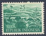 Sellos de Asia - Indonesia -  Teh
