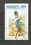 Sellos de Africa - Benin -  Uniformes Militares.