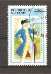Stamps Benin -  Uniformes Militares.