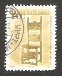 Sellos de Europa - Hungría -  Silla del siglo XVII