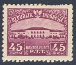 Stamps Indonesia -  Kantor Pusat P.T.T.