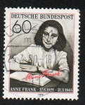 Stamps Germany -  Ana Frank
