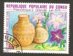 Stamps of the world : Republic of the Congo :  recipientes de barro