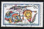 Sellos de Europa - Alemania -  Europa CEPT - Cometas