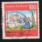 Sellos de Europa - Alemania -  Sorbische Sagen
