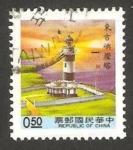 Stamps Asia - Taiwan -  1946 - faro de tungchi yu