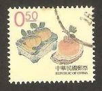 Stamps Asia - Taiwan -  grabado chino de hu chen yan, dinastia ming