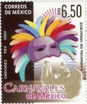 Stamps Mexico -  Carnavales de México