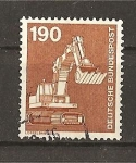 Stamps Germany -  Industria y Tecnica.