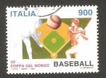 Sellos de Europa - Italia -  33 campeonato mundial de baseball