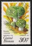 Stamps Africa - Guinea Bissau -  SETAS-HONGOS: 1.161.0005,00-Russula virescens