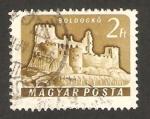 Stamps Hungary -  castillo de boldogko