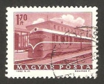 Stamps Hungary -  Tren