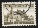 Sellos de Europa - Finlandia -  Iglesia de Lammi