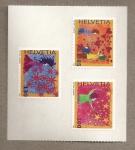 Stamps Switzerland -  Felicitaciones