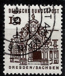 Stamps Germany -  Dresden, Sachsen.
