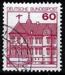 Sellos del Mundo : Europa : Alemania : Edificios. Schloss Rheyot.