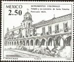 Stamps Mexico -  Monumentos Coloniales