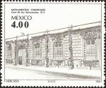 Sellos de America - México -  Monumentos Coloniales