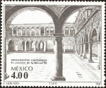Stamps Mexico -  Monumentos Coloniales