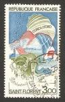 Sellos de Europa - Francia -  golfo de saint florent, corse