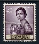 Stamps Spain -  la niña de jarra-julio romero de torres