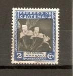 Stamps America - Guatemala -  MONJA  BLANCA