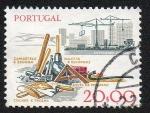 Sellos del Mundo : Europa : Portugal :  Instrumentos para la madera
