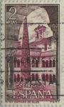 Stamps Spain -  Monasterio de Santo Domingo de Silos-vista interior-1973